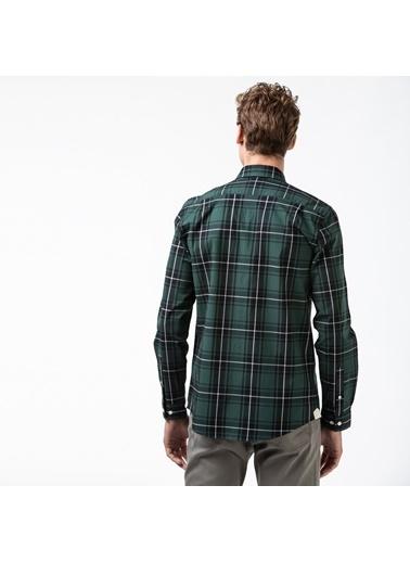 Lacoste Erkek Slim Fit Gömlek CH5349.2QG Yeşil